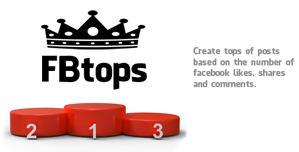 FBtops – WordPress plugin for posts tops based on facebook likes, shares and comments