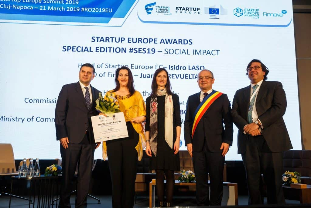 Kidibot, the educational platform for kids, won the biggest prize so far, from European Commission